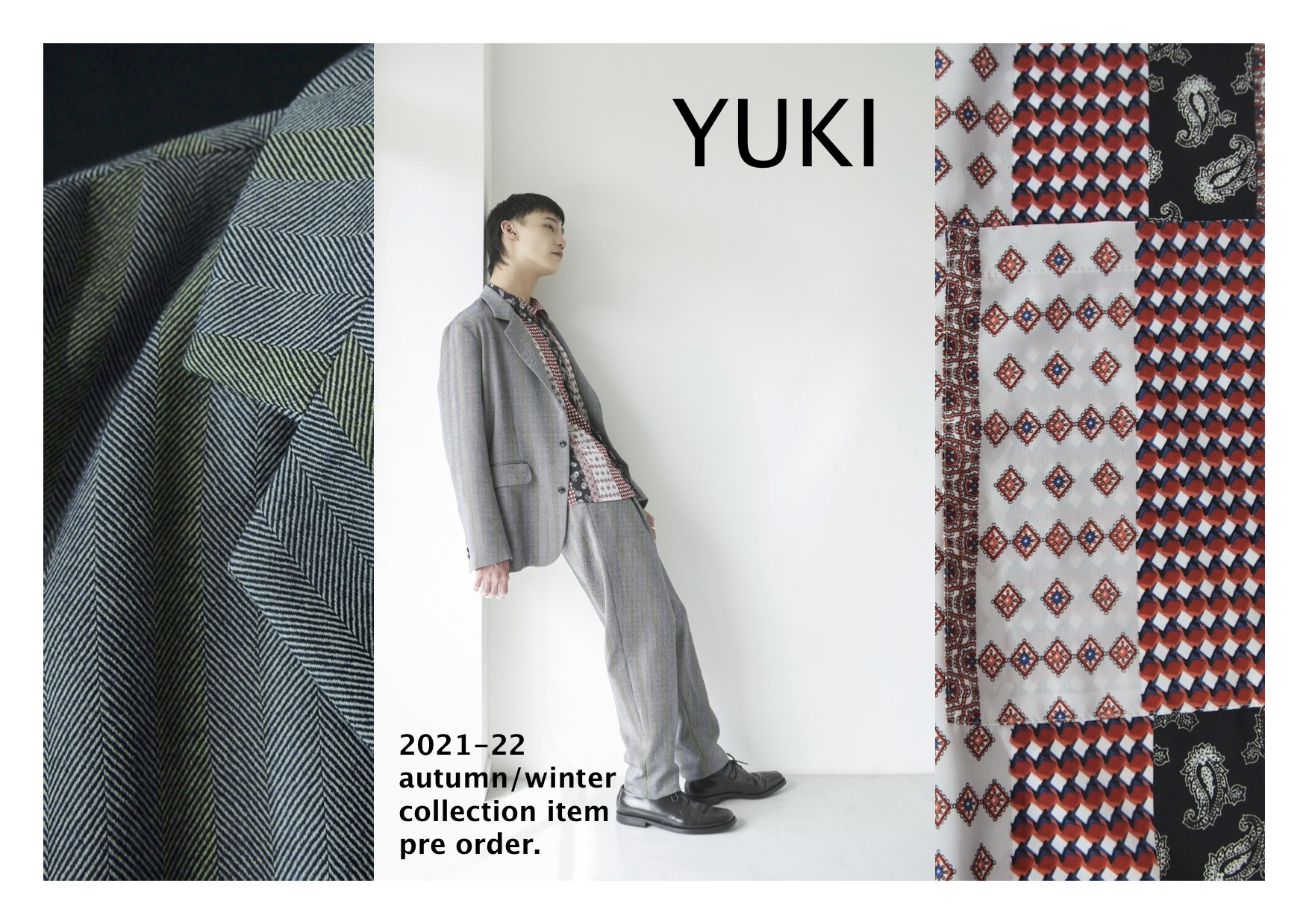 "【recommend】""YUKI"" 2021 A/W collection item vol.01"