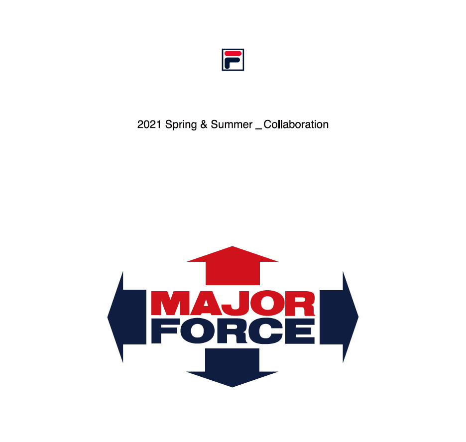 MAJOR FORCE × FILA HERITAGE !!!