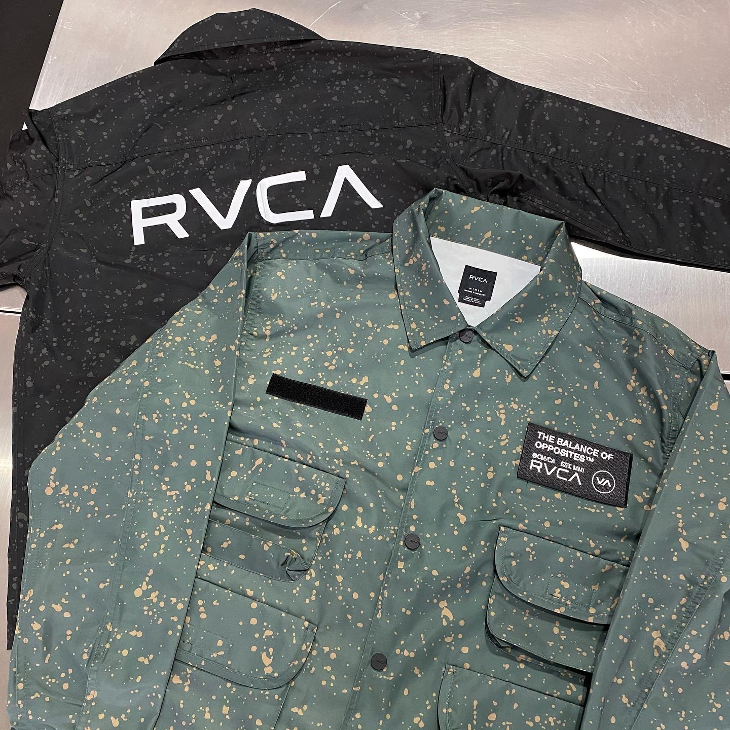 RVCA & Mark Gonzales Spring New Items arrival !!!