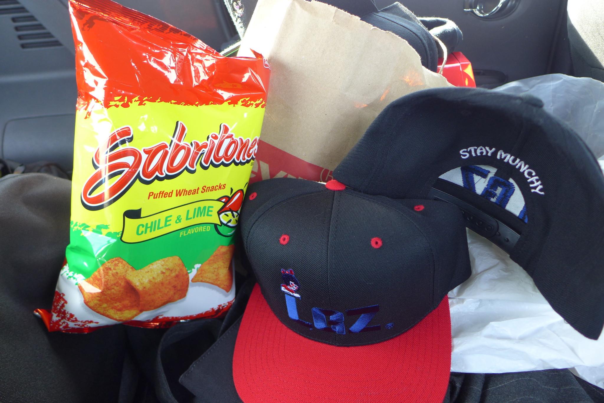 STAY MUNCHY SNAPBACK CAP