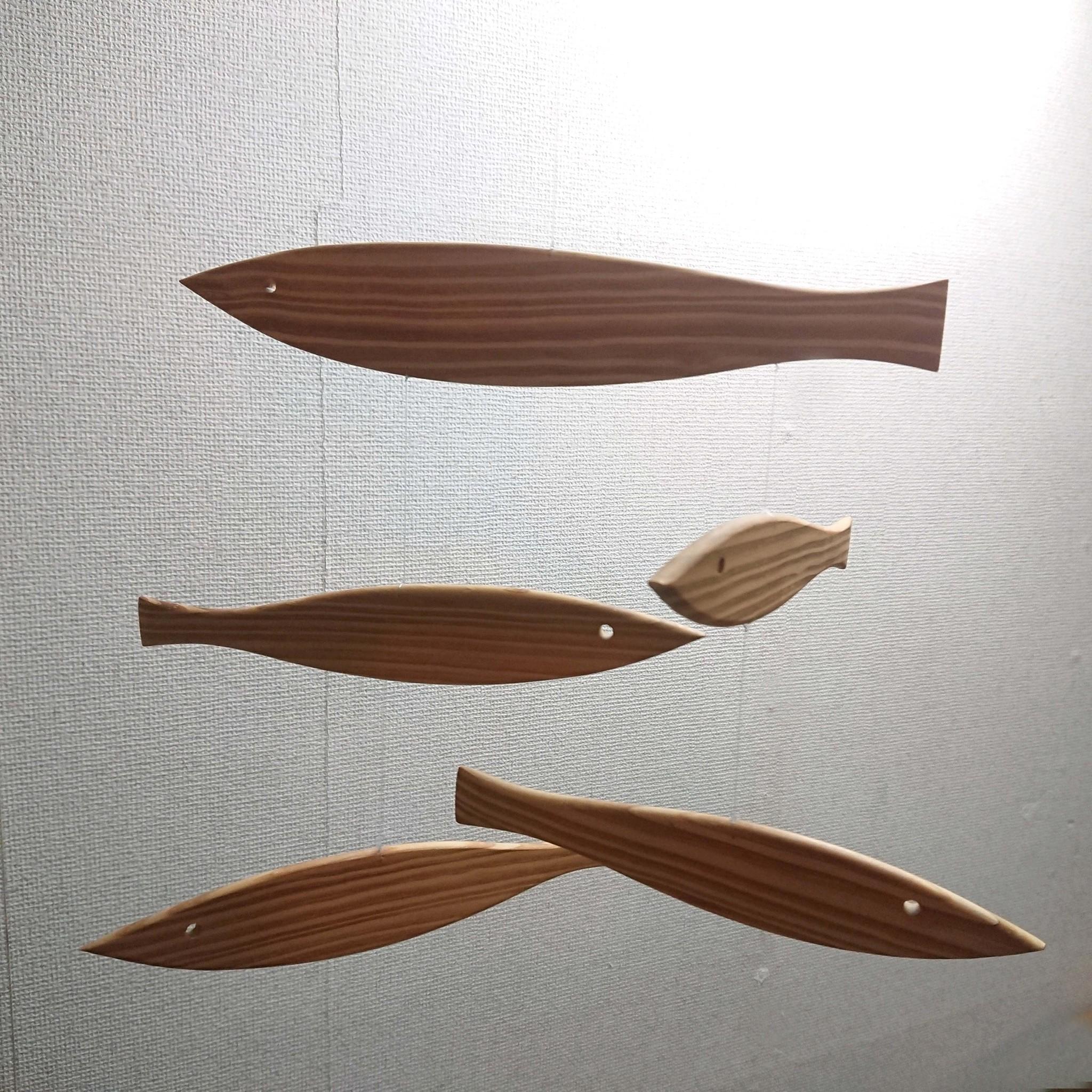 """デンマーク FLENSTED mobiles """"Floating Fish"""" 入荷しました"""