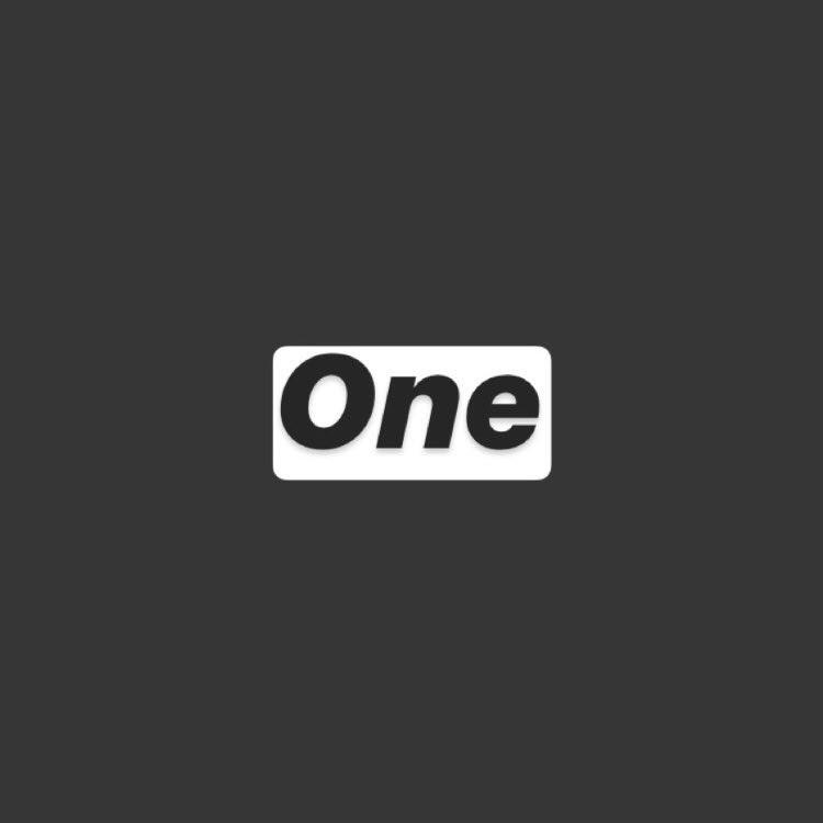 one 一人で運営する理由