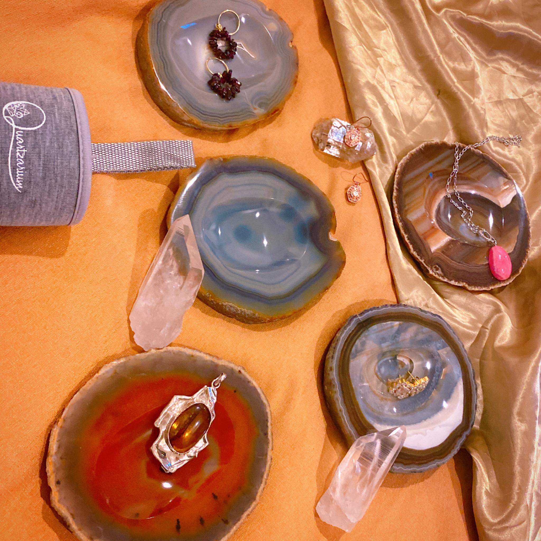[瑪瑙トレイ]小物やアクセサリー収納に