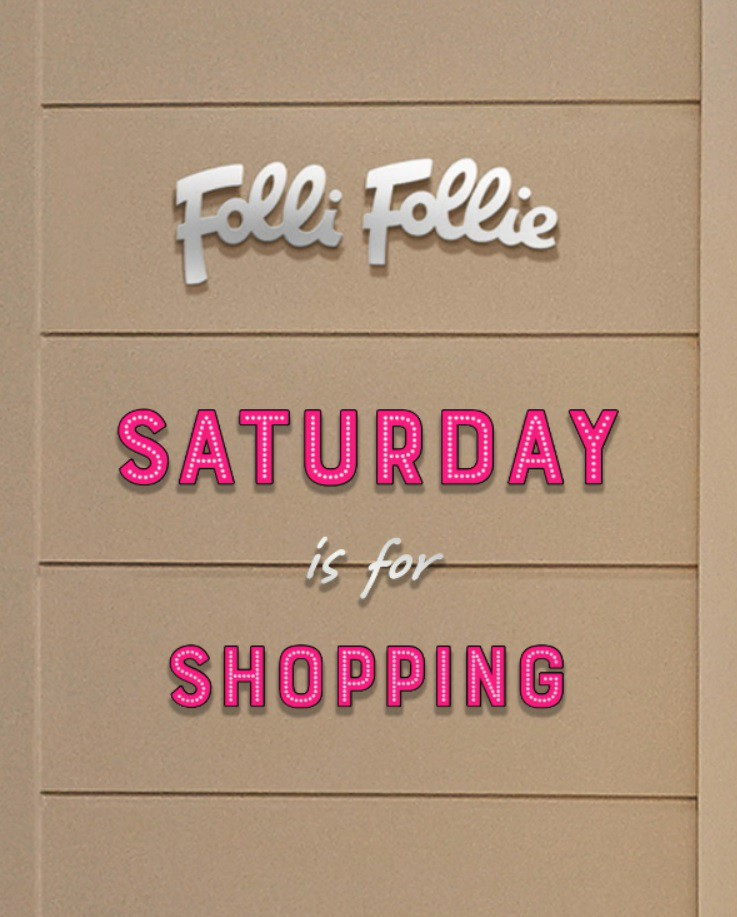 ★SATURDAY is for shopping!!★
