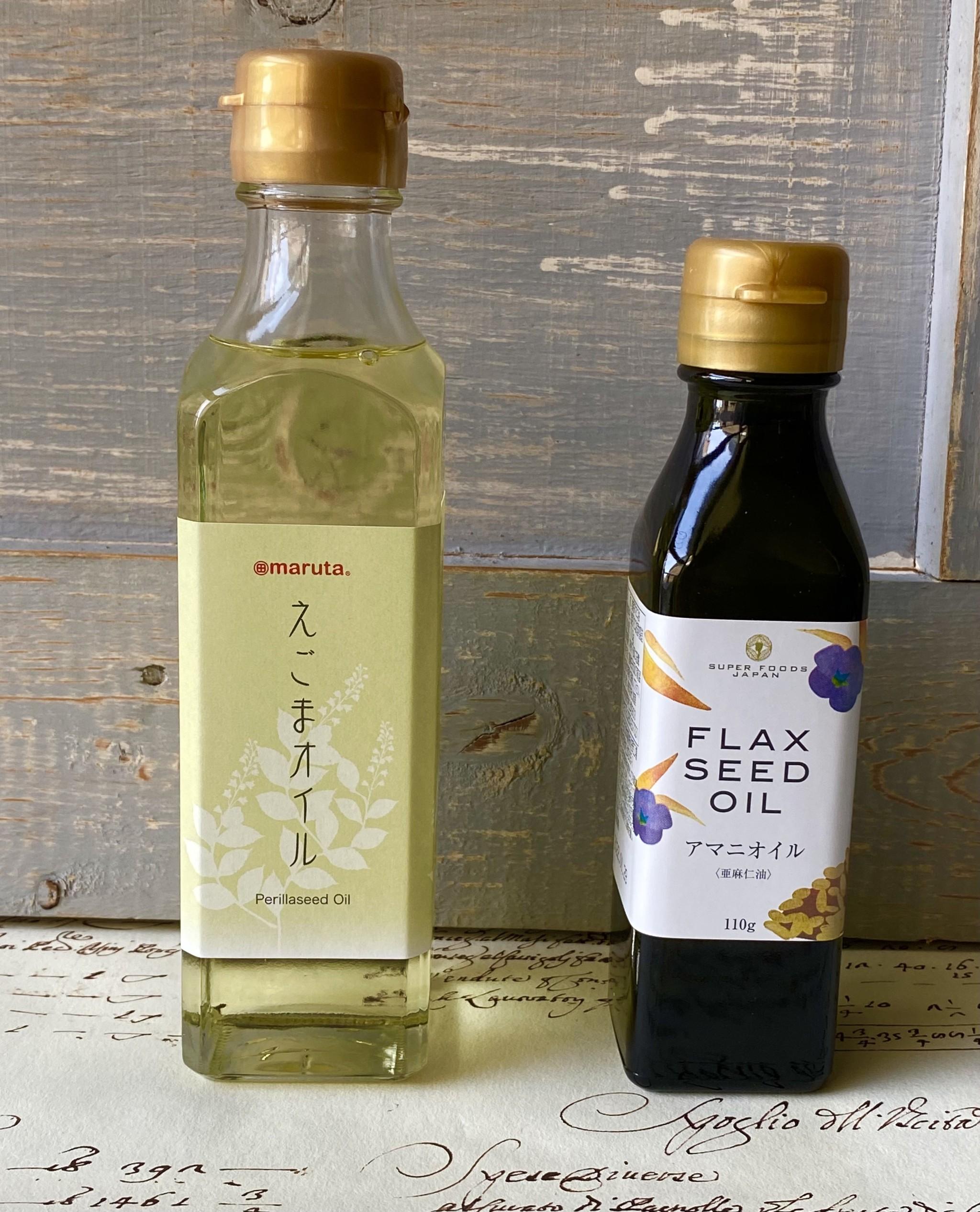 カラダにいい良質な油;Part2〜オメガ3系〜