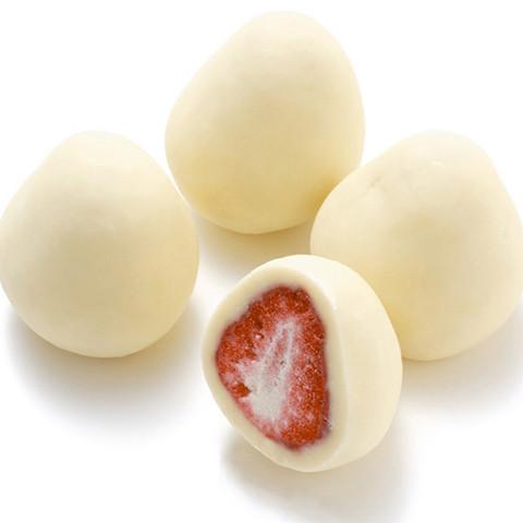 ★残りわずか★苺のチョコホワイト〜苺の酸味とクリーミーなホワイトチョコの甘さとのバランスが絶妙です!