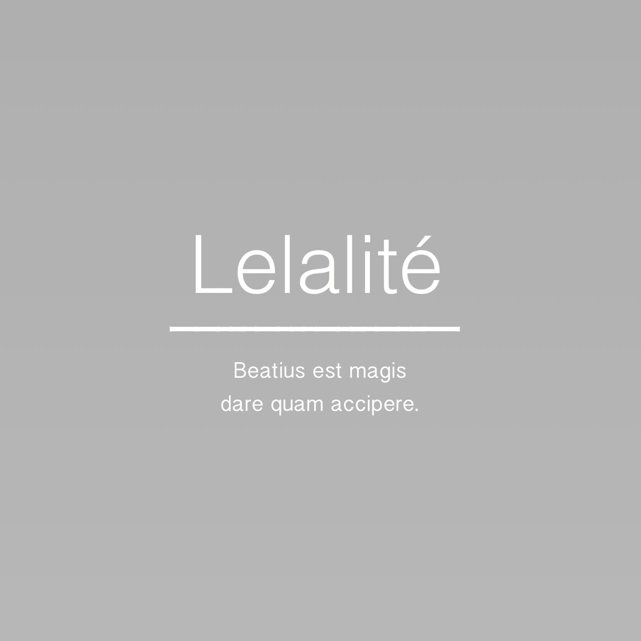 Lelalité