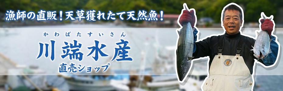 漁師の直販!天草獲れたて天然魚なら川端水産直販ショップ