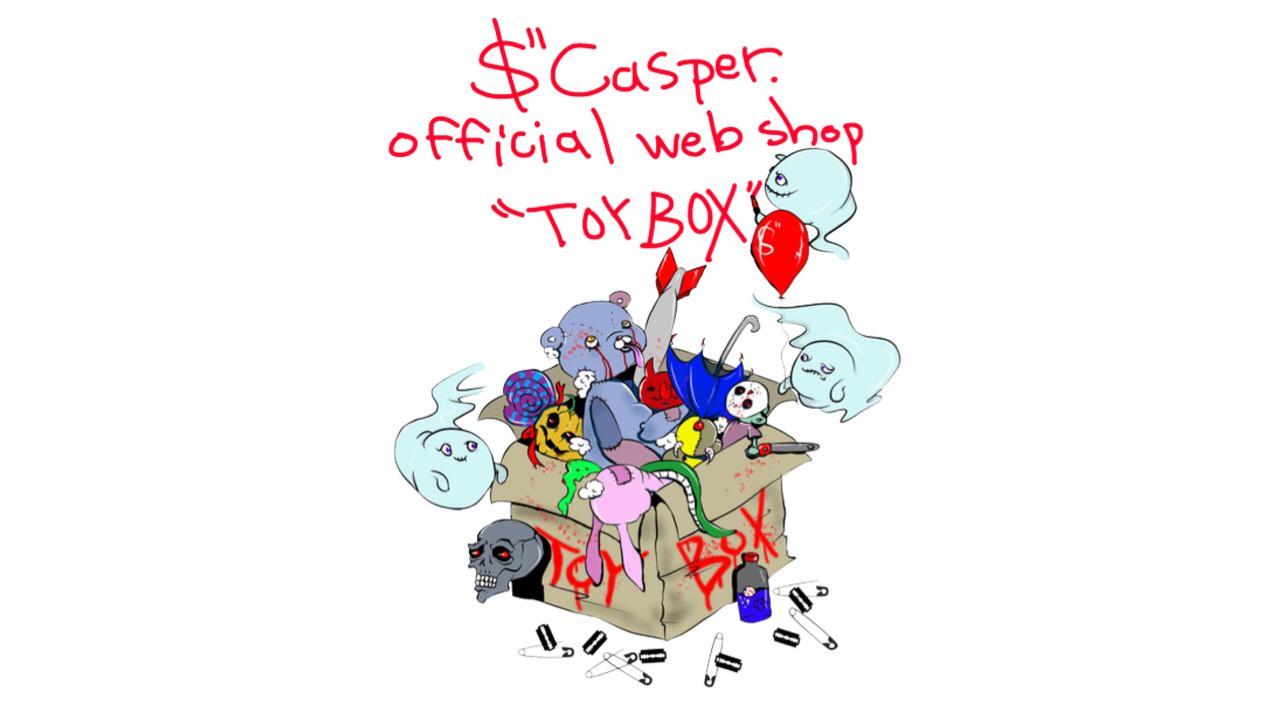 "$""Casper. official web shop ""TOY BOX"""