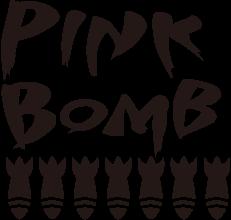 【公式ストア】ピンクボム ラロッカ・アット ザ ホップ | PINK BOMB×LA ROCKA!・AT THE HOP