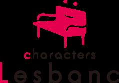 Characters Lesbanc