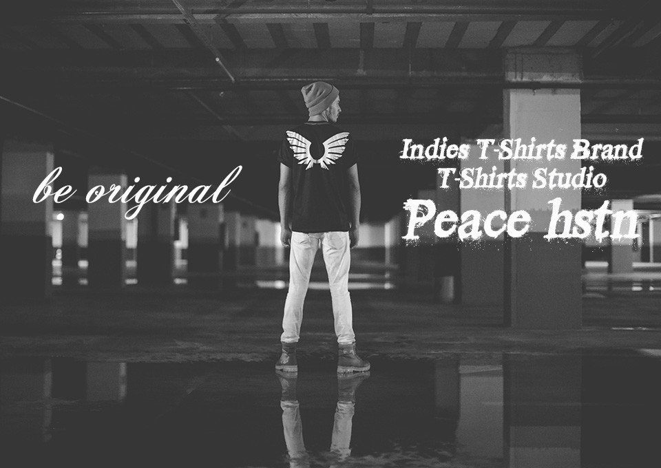 Indies T-Shirts Brand T-Shirts Studio Peace hstn