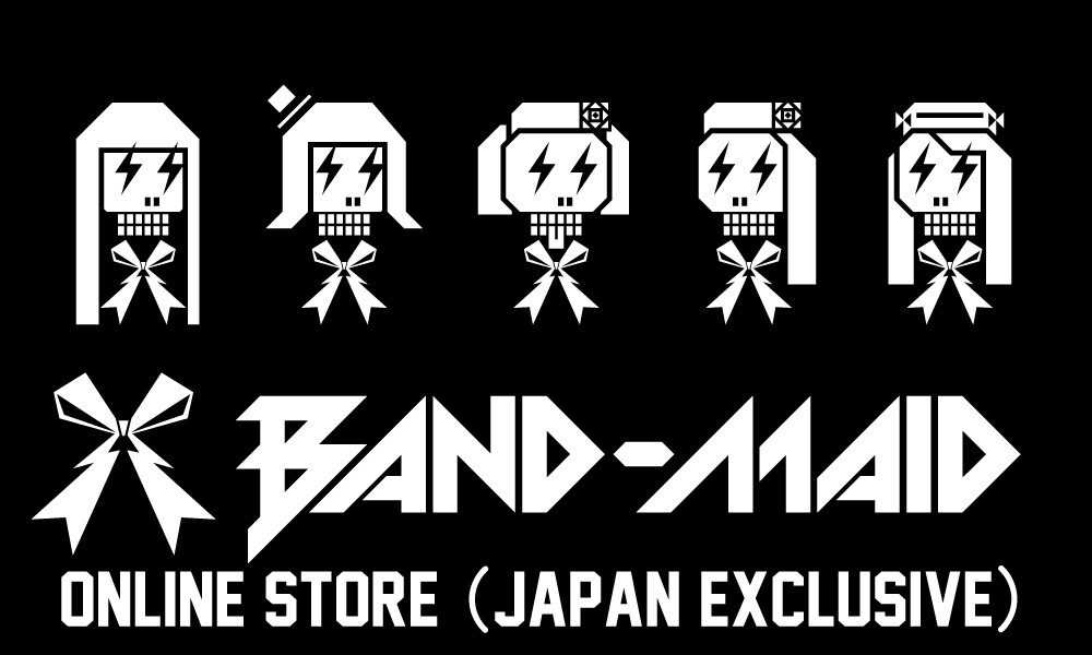 BAND-MAID ONLINE STORE (Japan exclusive)