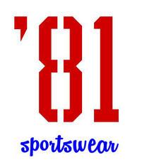 '81 sportswear