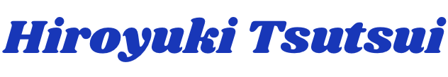 Hiroyuki Tsutsui WEB STORE