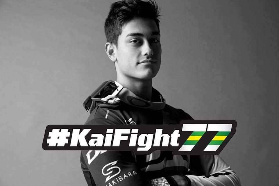 #Kaifight77 /BMXプロレーサー榊原魁のリハビリ支援オンラインショップ