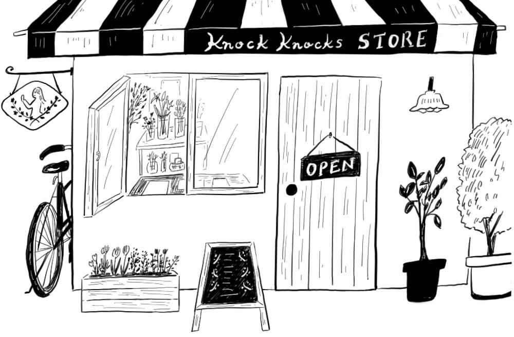 ノックノックスのお店