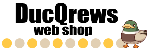 DucQrews web shop