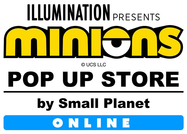 MINIONS POP UP STORE ONLINE