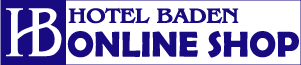 HOTEL BADEN ONLINE SHOP