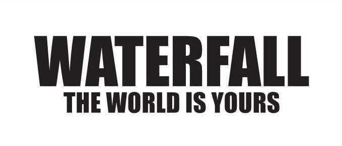WATERFALL|レコードワッペンの服ユニセックスブランド