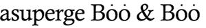 asuperge Boo & Boo