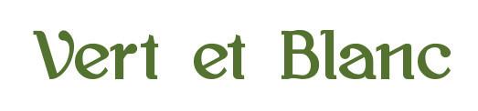 French Bistro ★ Vert et Blanc