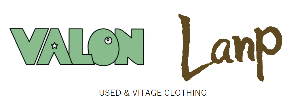 Used & Vintage Clothing 『VALON』『Lanp』