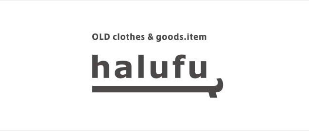 OLD clothes&goods.item halufu