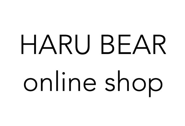 HARU BEAR online shop