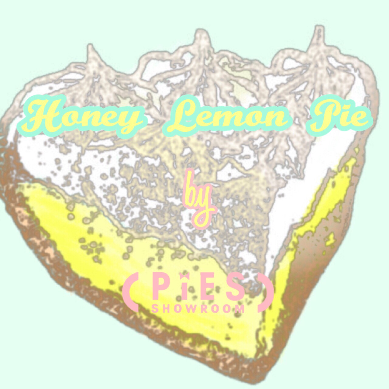 Honey Lemon Pie Vintage by PIES SHOWROOM