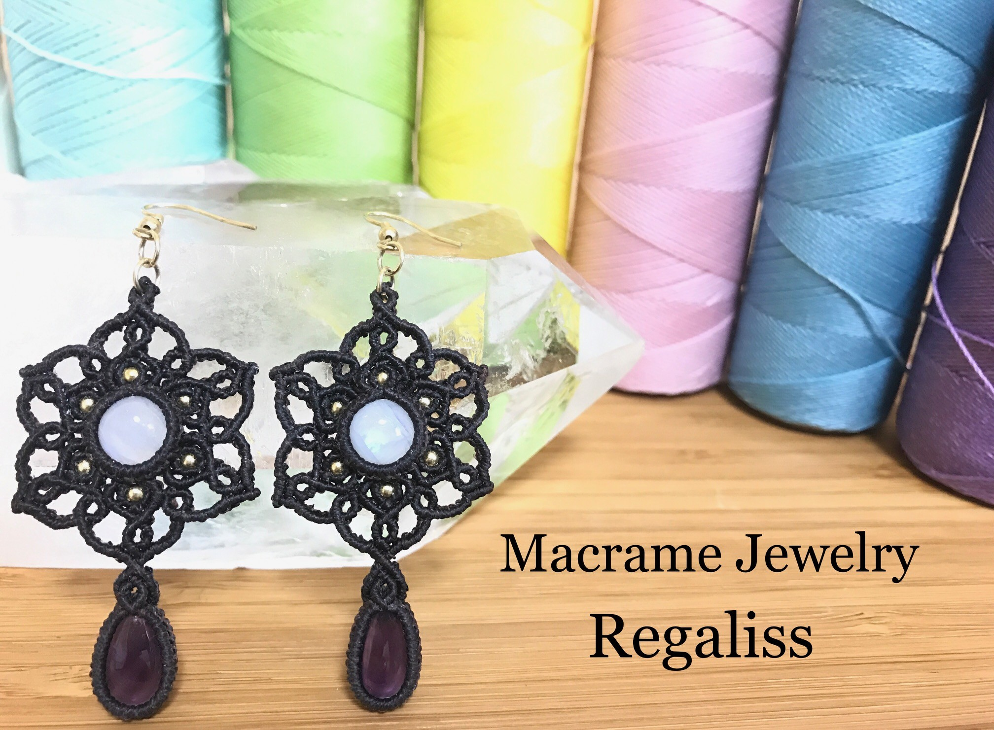 Macrame Jewelry Regaliss - レガリス -