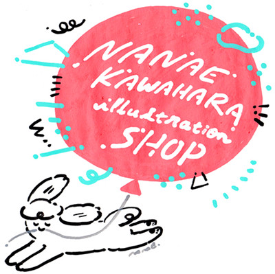 NANAE KAWAHARA illustration SHOP
