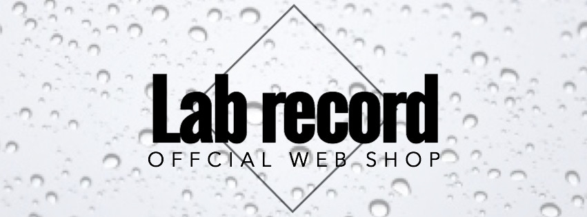 Lab record official web shop