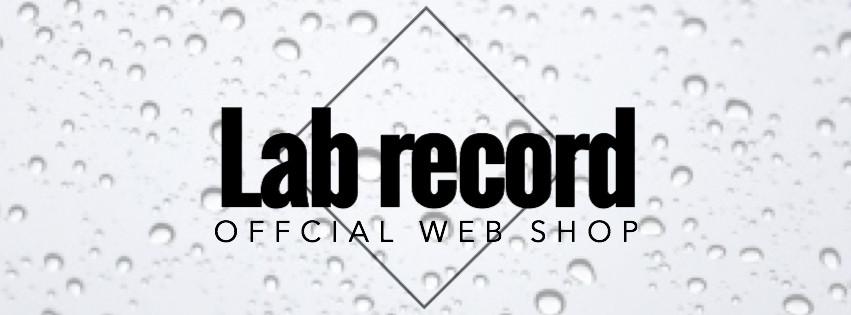 Lab record official web shop