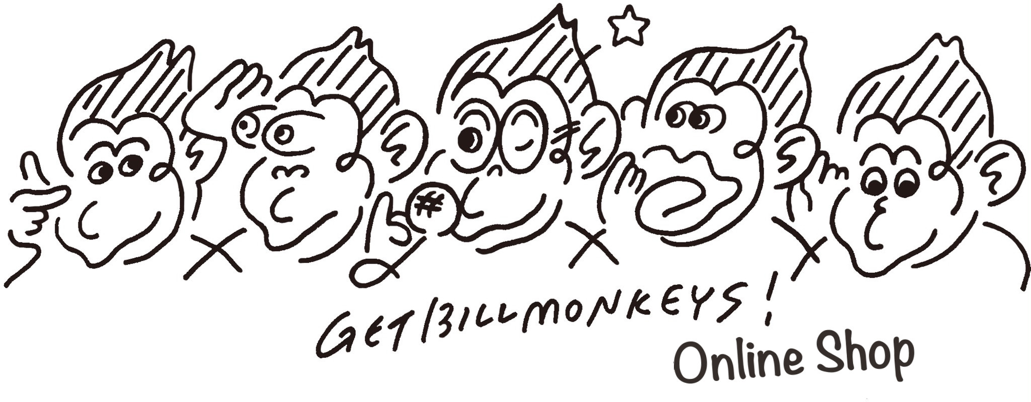 GET BILL MONKEYS Online Shop
