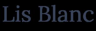 Lis Blanc  リスブラン