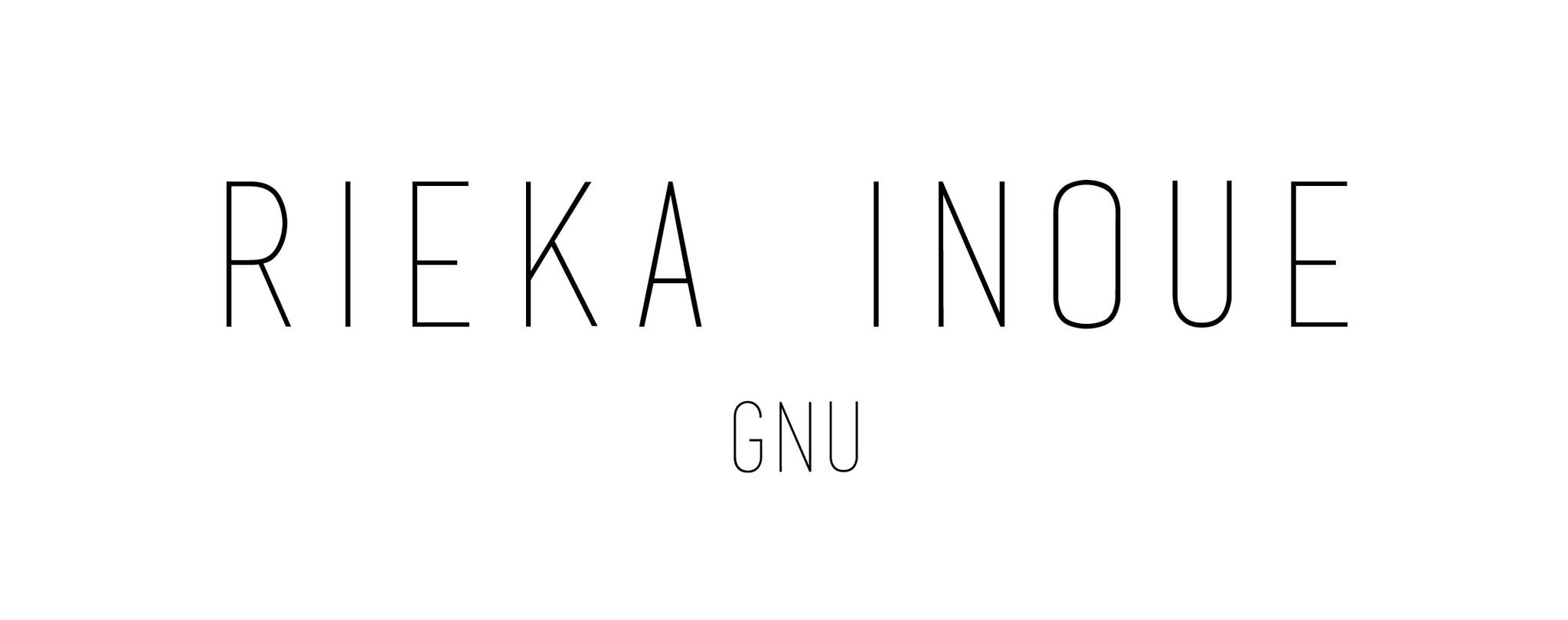 RIEKA INOUE GNU