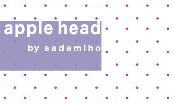 apple head by sadamiho