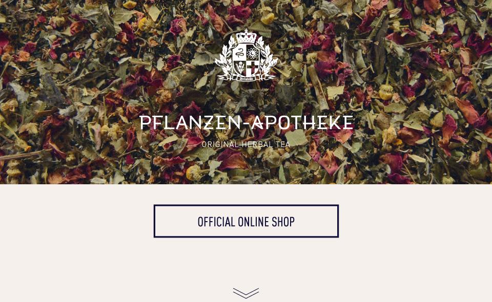 PFLANZEN-APOTHEKE  ONLINE SHOP