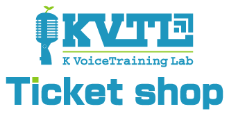 K VoiceTraining Lab Ticket Shop
