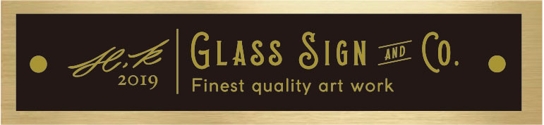 GLASS SIGN & Co.