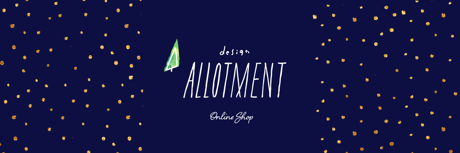 design ALLOTMENT webshop on BASE