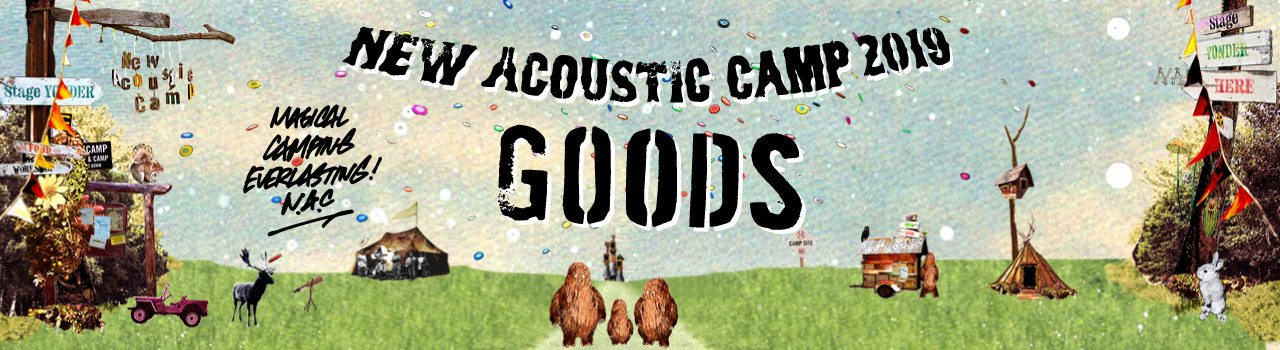 New Acoustic Camp Web Store