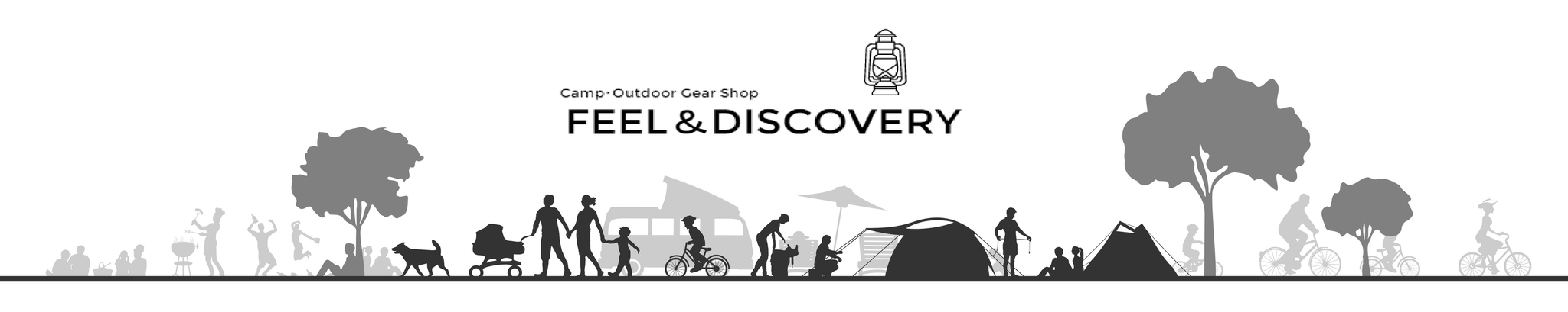 camp.outdoor gear shop FEEL&DISCOVERY