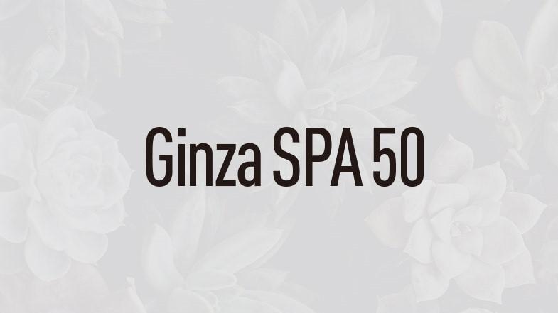 Ginzaspa50