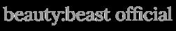 beauty:beast official web shop