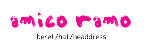 amicoramo (アミコラモ) * beret/hat/headdress