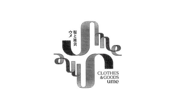 服と雑貨ume  大阪市北区中津 セレクトショップ