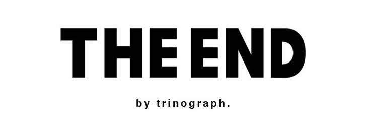 THE END by trinograph.